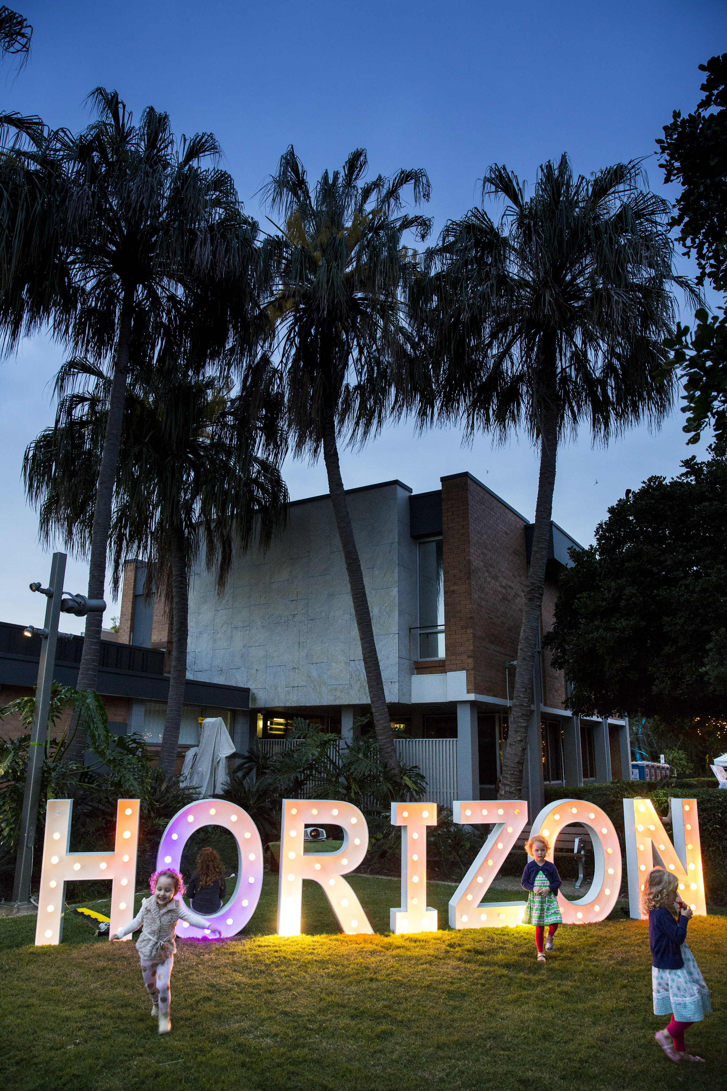 Horizon Festival event installation. Photo: Ben Vos Photography