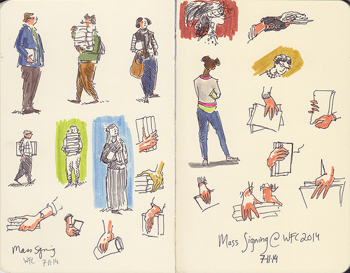 Image of Kathleen Jenning's sketches