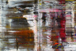 Gerhard Richter, Germany b1932 / Abstract painting (726) 1990 / Oil on canvas / 2 canvases / Collection: Tate. Purchased 1992 / © Gerhard Richter 2017.