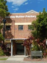 Photo of external shot of the Cooroy Butter Factory Arts Centre